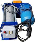 Лебёдка электрическая канатная  ЛЭК 500 кг L=100 м